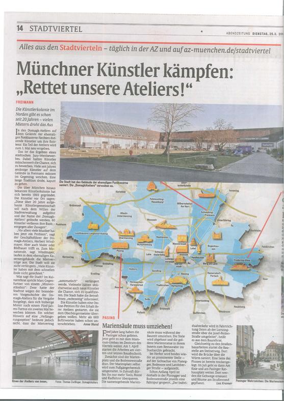 56a_AZprint__Münchner_Künstler_wehren_sich__Rettet_unsere_Ateliers__-_Schwabing_-_Abendzeitung25.3